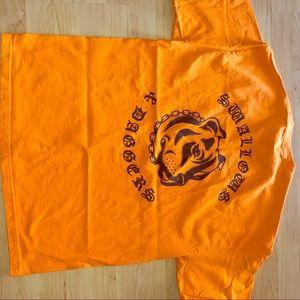 Orange SWALLOW AND DAGGERS XL MENS t shirt